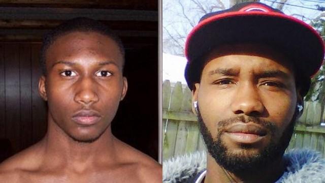 Hasan Edmonds (trái) và Jonas Edmonds (phải)-hai kẻ định gia nhập khủng bố IS