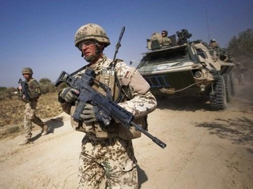 Một lính Mỹ trên chiến trường