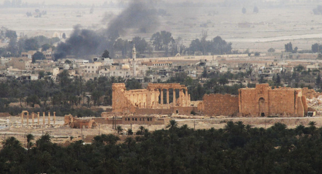 Nga không kích dữ dội Palmyra, tiêu diệt hơn 100 phiến quân IS