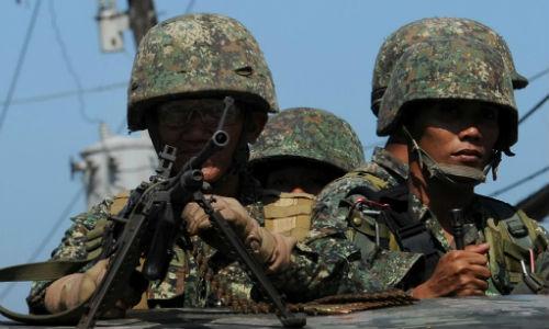 Binh sĩ Philippines tiêu diệt 8 kẻ tình nghi phiến quân IS
