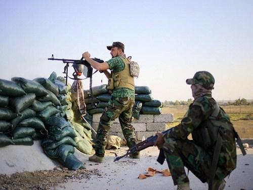 Quân đội Iraq dồn dập tấn công khủng bố IS ở Tikrit