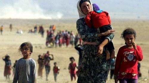 Phụ nữ Yazadi bị phiến quân IS thảm sát tàn bạo