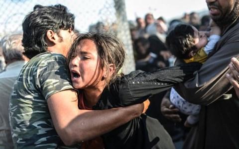 Hàng nghìn người dân đã tháo chạy khỏi tổ chức khủng bố IS