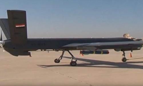 Máy bay chiến đấu không người lái Caihong 4B dùng không kích tổ chức khủng bố IS