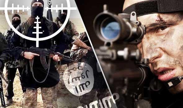Một tay súng bắn tỉa của lực lượng tinh nhuệ Anh đã bắn trúng đầu một viên chỉ huy IS