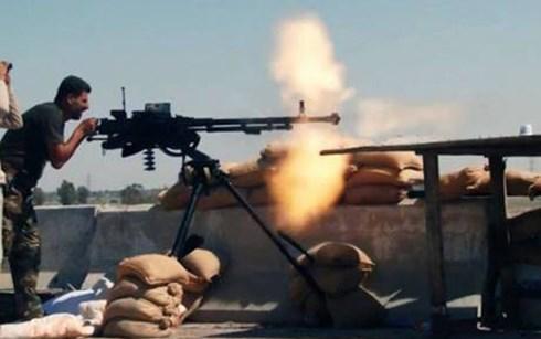 Lực lượng bán dân quân Hồi giáo dòng Shi'ite Iraq tham gia chống khủng bố IS