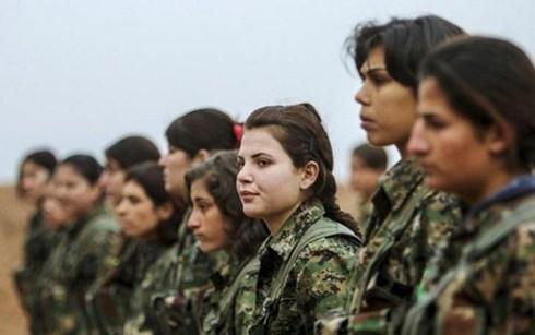 Lực lượng dân quân người Kurd (YPG) đứng ở tuyến đầu trong cuộc chiến chống khủng bố IS