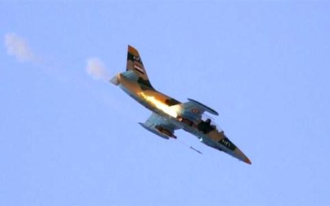 Một máy bay chiến đấu của Syria