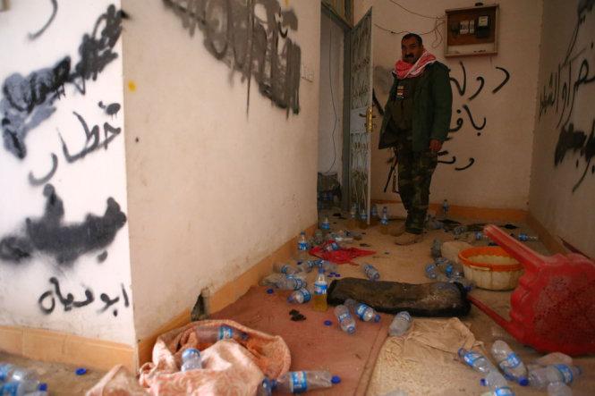 Khu vực được cho là nơi ở của các tay súng thuộc tổ chức khủng bố  IS