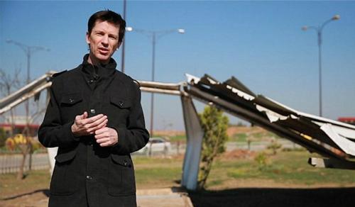 John Cantlie trong video của nhóm khủng bố IS đăng tải hôm 18/3