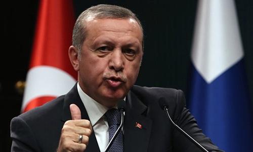 Tổng thống Thổ Nhĩ Kỳ Recep Tayyip Erdogan thề sẽ nghiền nát tổ chức khủng bố IS