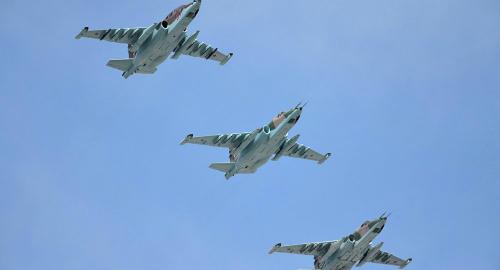 Chiến đấu cơ Nga trên đường không kích tổ chức khủng bố IS