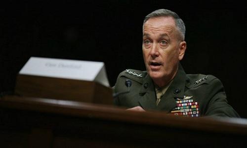 Chủ tịch hội đồng Tham mưu trưởng liên quân Mỹ, tướng Joseph Dunford