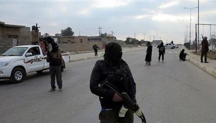 Các tay súng thuộc tổ chức khủng bố IS tại Iraq