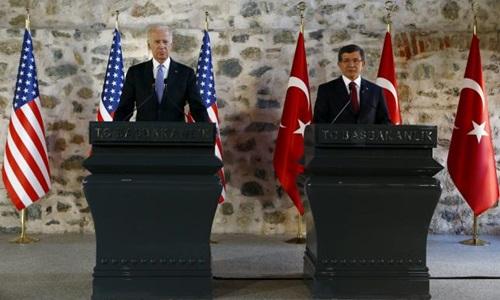Mỹ và Thổ Nhĩ Kỳ đang chuẩn bị giải pháp quân sự nhằm chống lại khủng bố IS