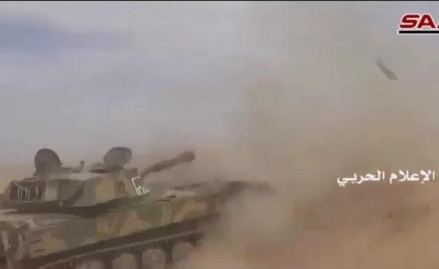Giao tranh ác liệt giữa nhóm khủng bố IS và quân đội Syria tại Palmyra