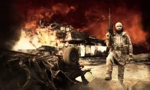 Một hình ảnh trong video do tổ chức khủng bố IS đăng tải ngày 25/11