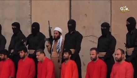 Các con tin sắp bị IS tàn sát