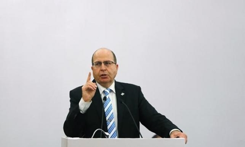 Bộ trưởng Quốc phòng Israel Moshe Yaalon