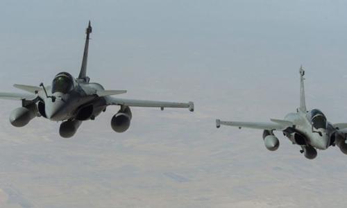Chiến dịch không kích khủng bố IS đầu tiên của Pháp tại Syria đã thành công