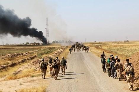 Lực lượng người Kurd giành lại 10 ngôi làng ở Bắc Iraq từ tay khủng bố IS