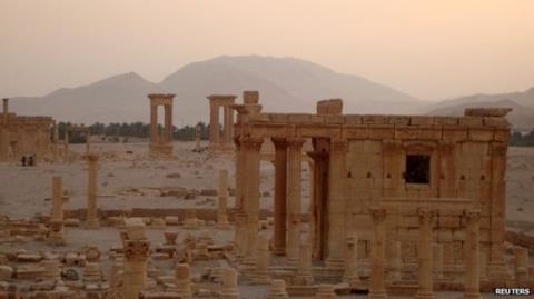 Ngôi đền Baal Shamin đã bị khủng bố IS làm nổ tung hồi tháng 8