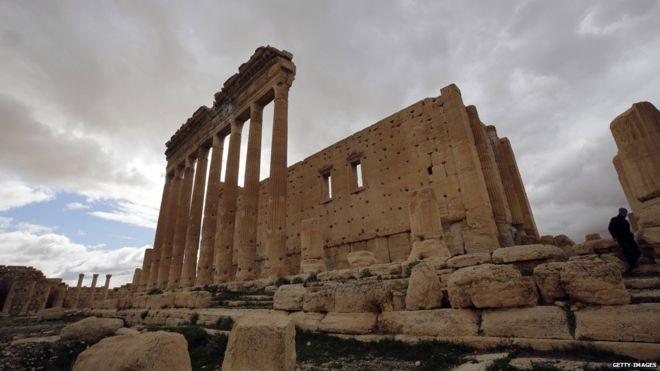 Ngôi đền cổ La Mã Bel trước khi bị khủng bố IS phá hủy