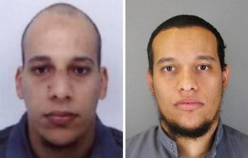 Chân dung hai nghi can khủng bố tòa báo Charlie Hebdo
