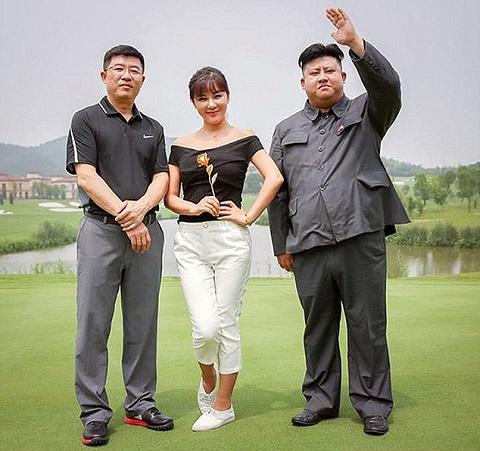 Wang Lei và ngoại hình giống Kim Jong Un tới 90%