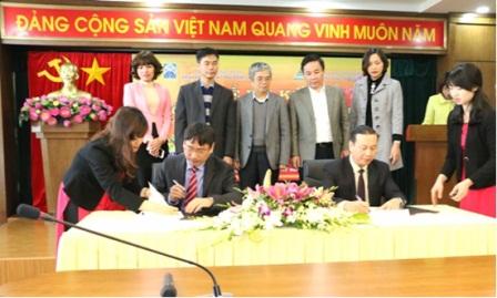 Viện Ứng dụng công nghệ (Bộ KH&CN) và Viện Khoa học và công nghệ Giao thông Vận tải (Bộ GTVT) tổ chức Lễ ký kết thỏa thuận hợp tác về khoa học và công nghệ.