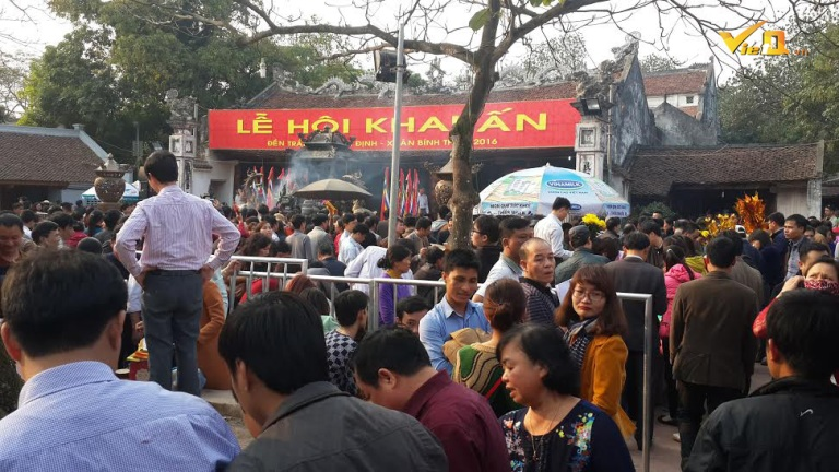 Lễ khai ấn đền Trần