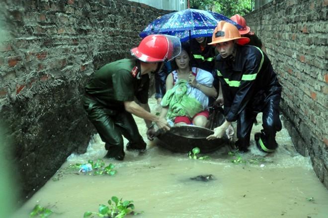 Lũ lụt ở Quảng Ninh