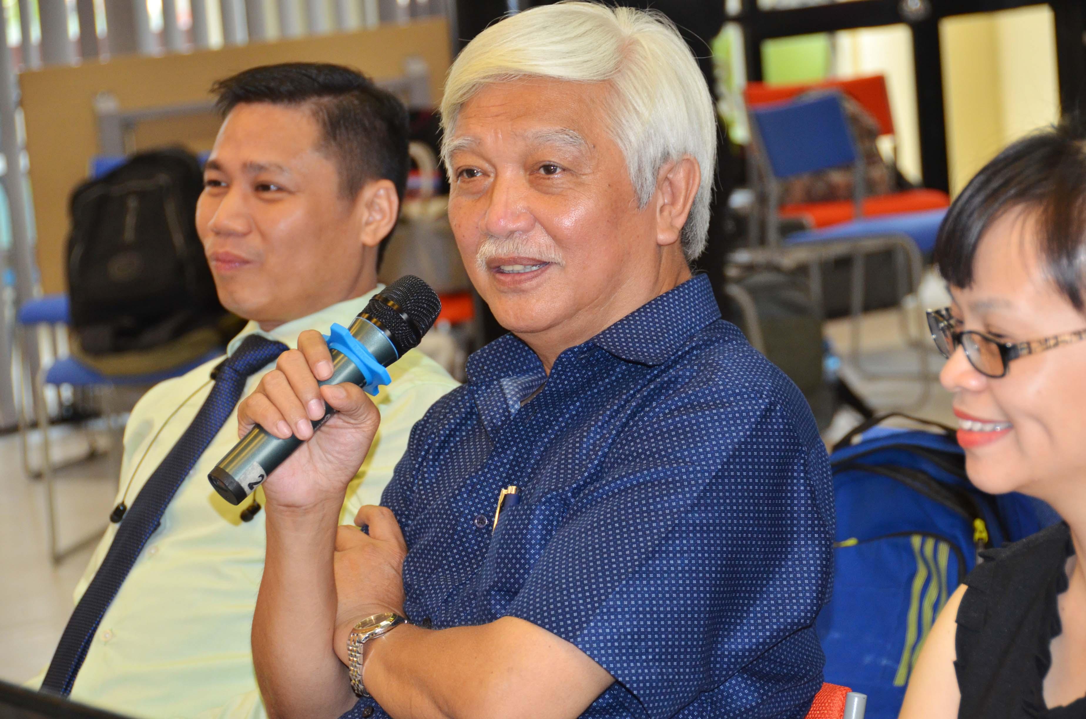 Ông Dương Trung Quốc đặt nhiều kỳ vọng vào sự thành công của cuộc thi khởi nghiệp Vua bán hàng