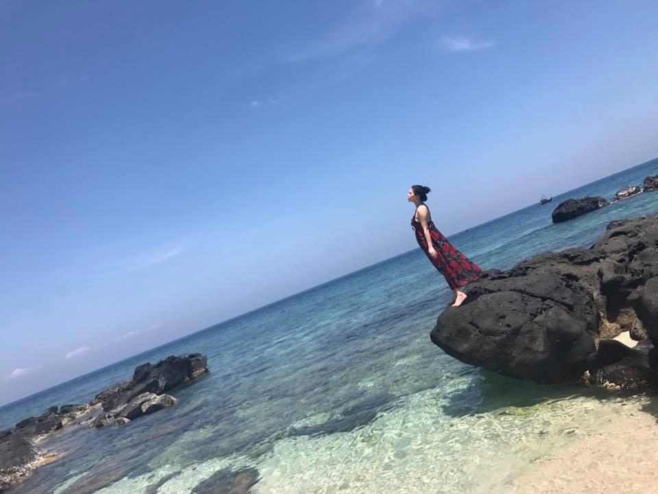 Đảo Bé Lý Sơn mang đến cho du khách những khung cảnh tuyệt đẹp để chụp hình