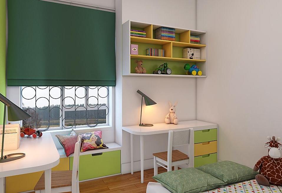 Luôn tạo không gian yên tĩnh nhất cho phòng học của con cái