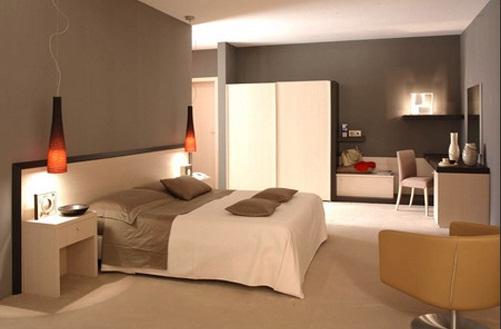 Không đặt giường ngủ sát khu vực nấu nướng hoặc gần bồn cầu, nhà vệ sinh