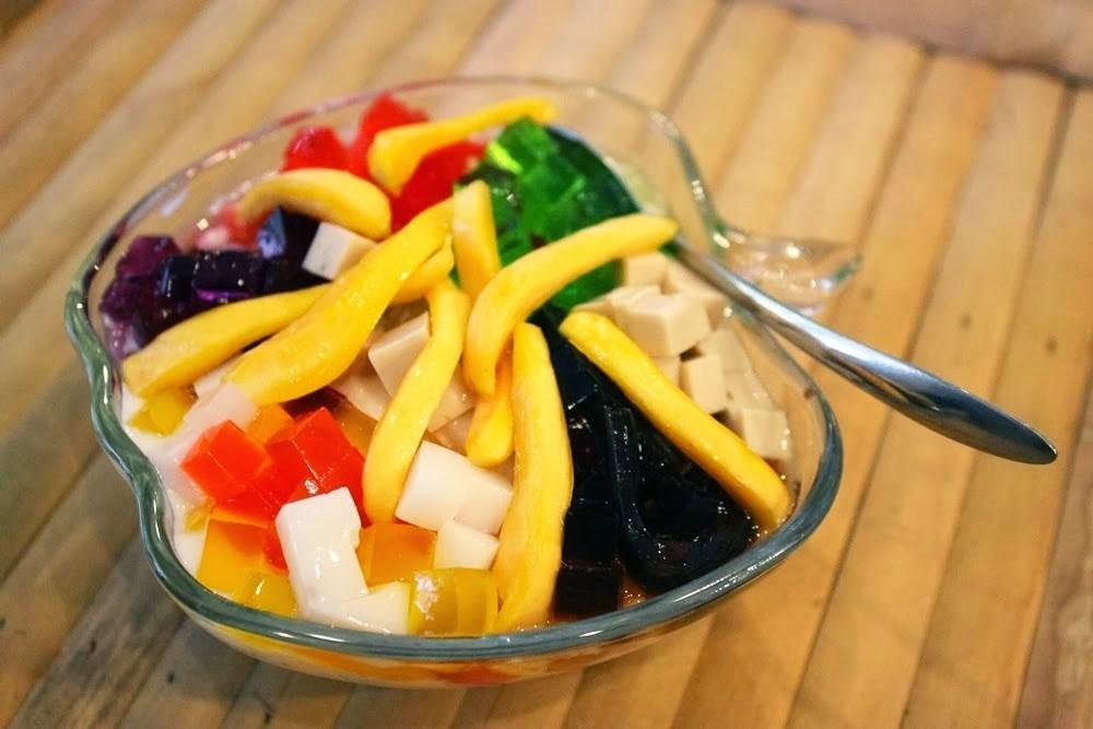 Nên ăn mít cùng thạch, sữa chua và những loại hoa quả khác