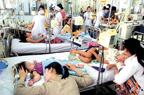 Quận Hoàng Mai - Hà Nội là nơi dịch sốt xuất huyết bùng phát rất mạnh vào tháng 6/2017