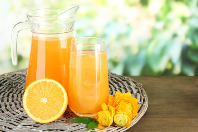 Không uống nước cam khi đói bụng, nhất là những người bị bệnh tiểu đường