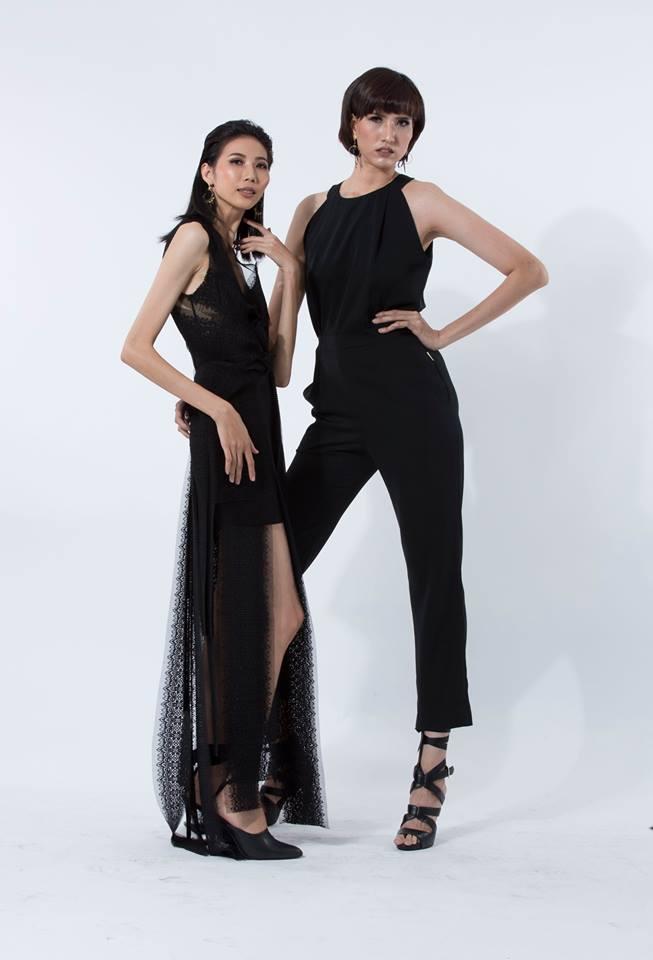Cao Ngân và Hồng Xuân chọn trang phục đen cho phong cách thời trang quyến rũ