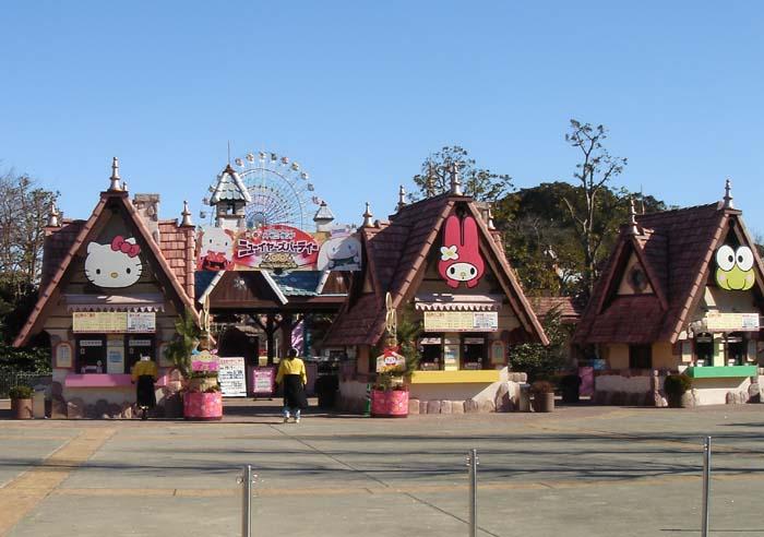 Công viên Sanrio ở Nhật Bản là địa điểm tuyệt vời dành cho thiếu nhi