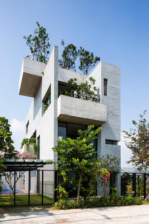 'Nhà cho cây' ấn tượng của một gia đình 3 thế hệ tại Sài Gòn