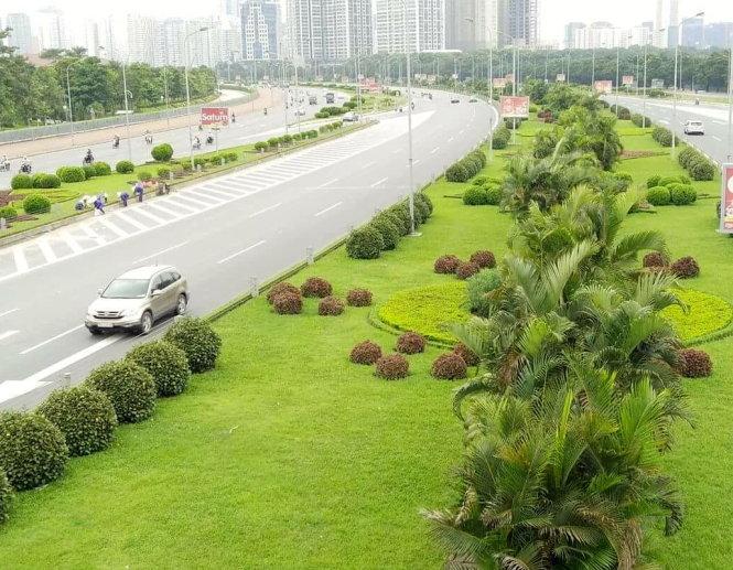 Để cỏ mọc tự nhiên giúp Hà Nội có chi phí nhiều hơn để đầu tư vào việc an sinh xã hội