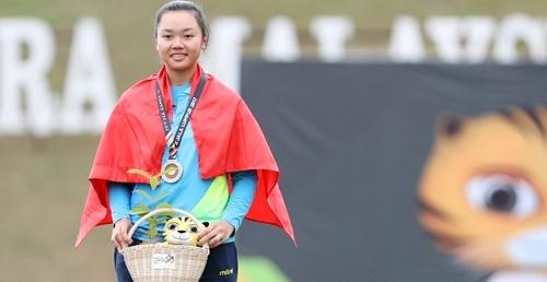 Châu Kiều Oanh mang về tấm huy chương đầu tiên cho thể thao Việt Nam tại SEA Games 29
