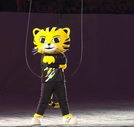 Linh vật tại SEA Games 29 là chú hổ