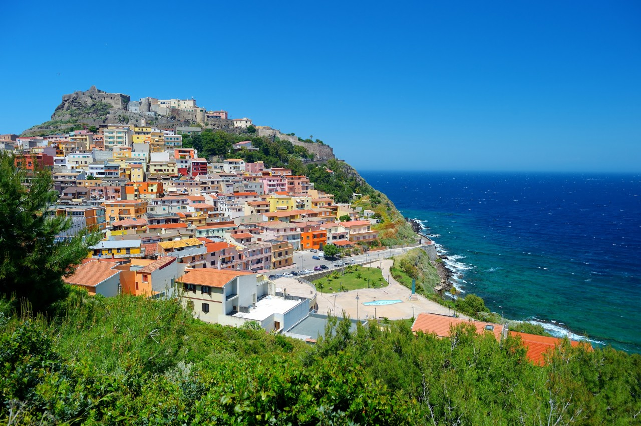 Sardiania là một trong hai hòn đảo đẹp nhất ở Italia