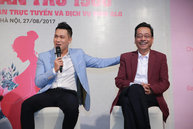 Diễn viên Việt Anh và NSND Hoàng Dũng có nhiều quan điểm thú vị về chăm sóc con cai