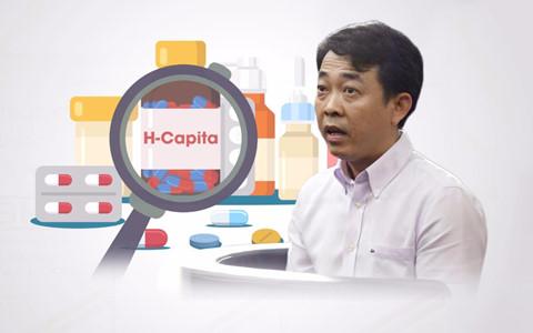 Lô thuốc H-Capita được nhập khẩu và có mặt tại công ty cổ phần VN Pharma đã bị niêm phong.