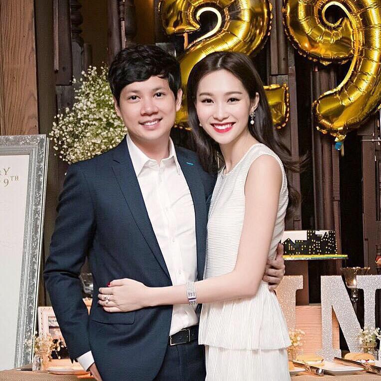Tháng 7/2016, bạn trai Đặng Thu Thảo đăng ảnh chụp chung với cô làm ảnh đại diện trên trang cá nhân. Đây là buổi tiệc mừng sinh nhật tuổi 29 của Trung Tín.