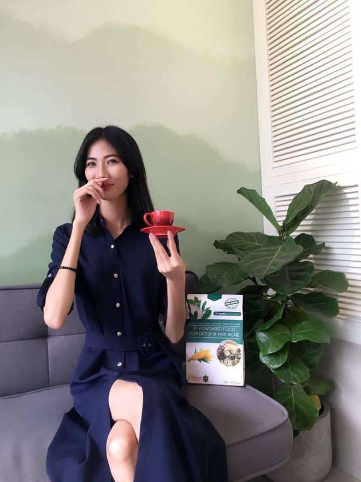 Hình ảnh mới nhất của Cao Ngân cho thấy sự vui vẻ của người mẫu